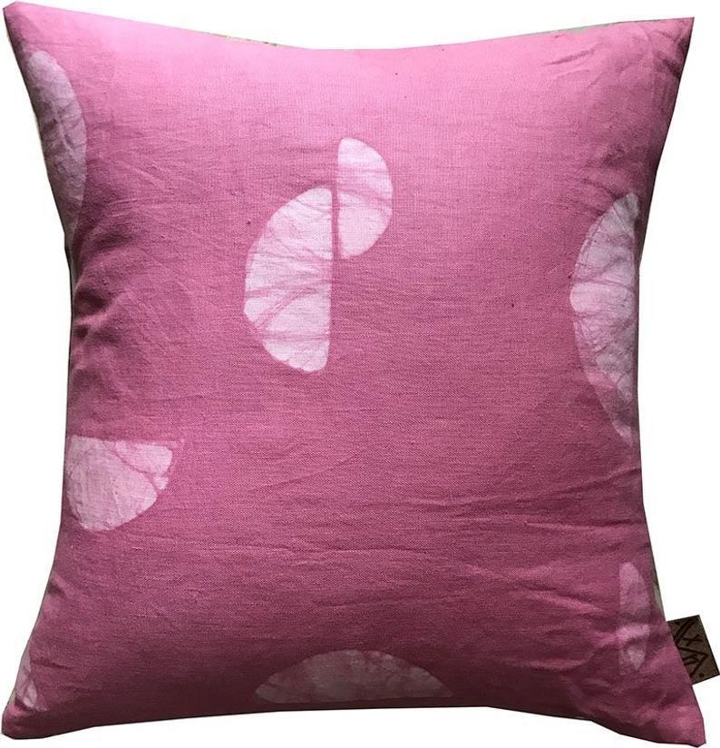 Batik HIBISCUS ZORI Pillow