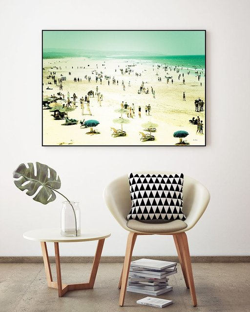 """Caravan of Dreams"" Art Block Framed Canvas  by Giant Art"