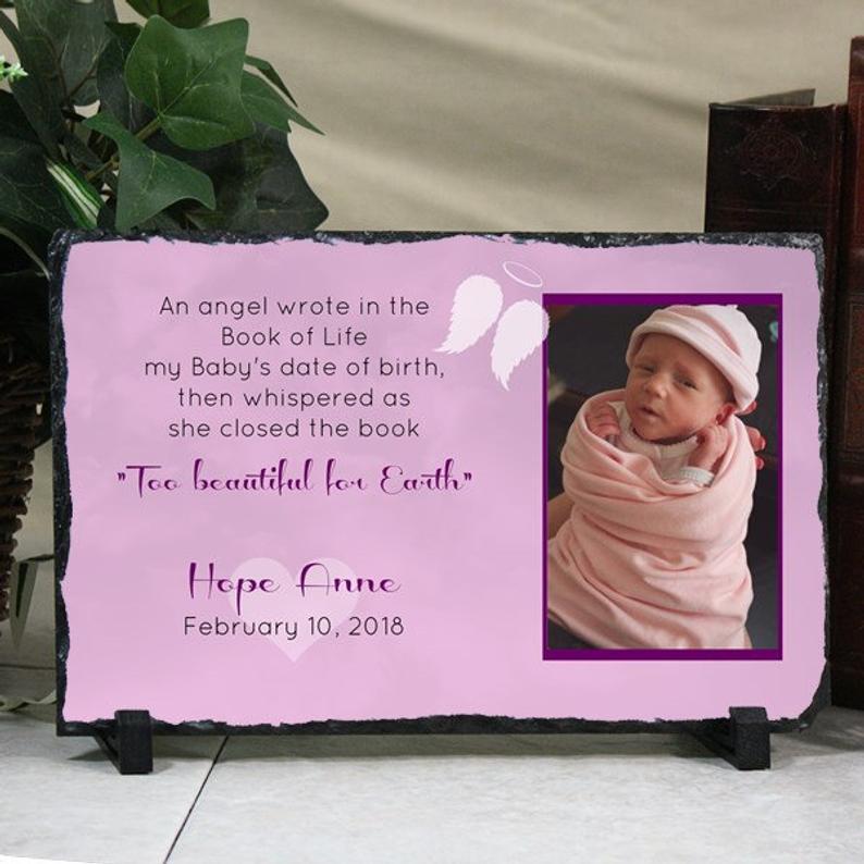 Child Loss Infant Loss Memorial Custom Baby Memorial