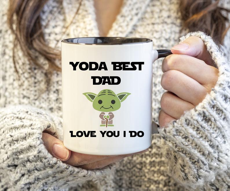 Fathers Day Gift from Daughter Mug Love You Dad Mug