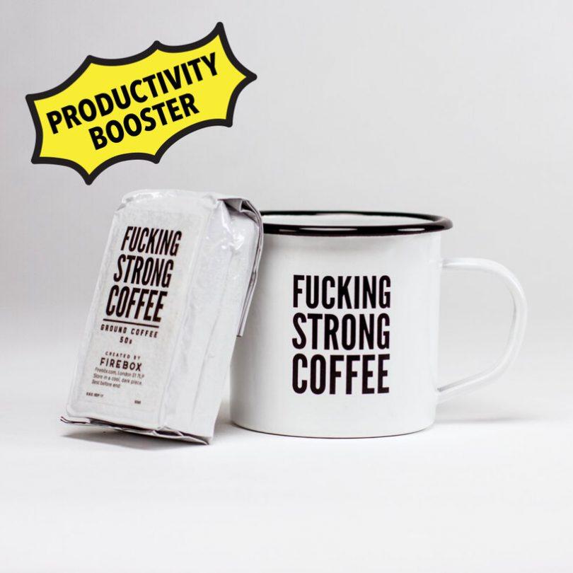 F*cking Strong Coffee & Mug Set