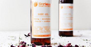 Firming Body Oil Organic Body Oil with Combination of Plant