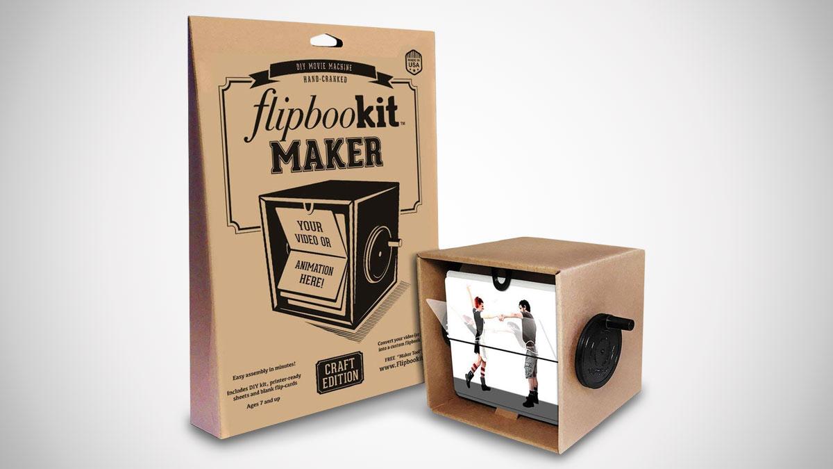 FlipBooKit Maker Kit – DIY Hand-Cranked Movie
