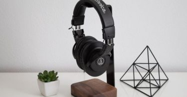 Headphone Stand Wood  Steel and Wood Headphone Holder Makes