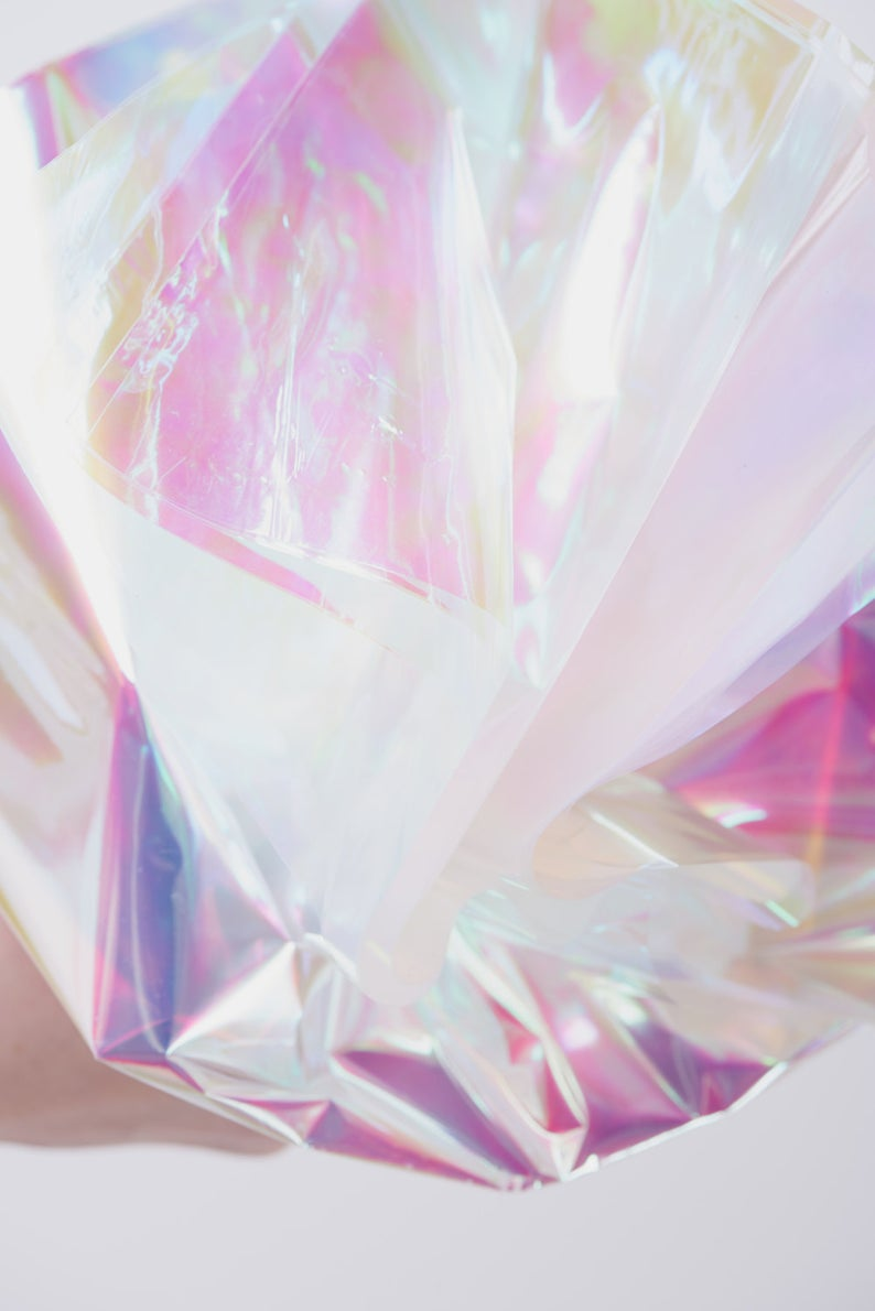 Iridescent Cello Sheets  Pearlescent Cello Sheets  Opal