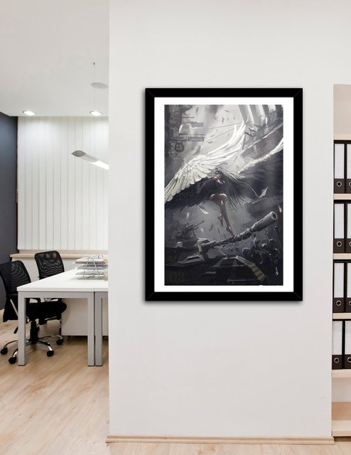 Judge, Fine Art Print by Wlop