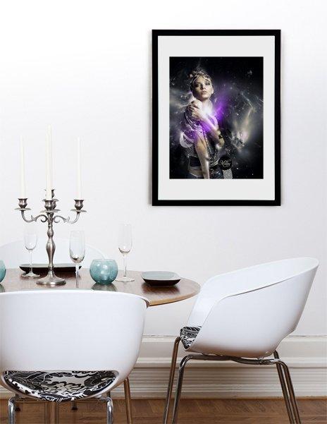 Milky, Fine Art Print by Pete Harrison