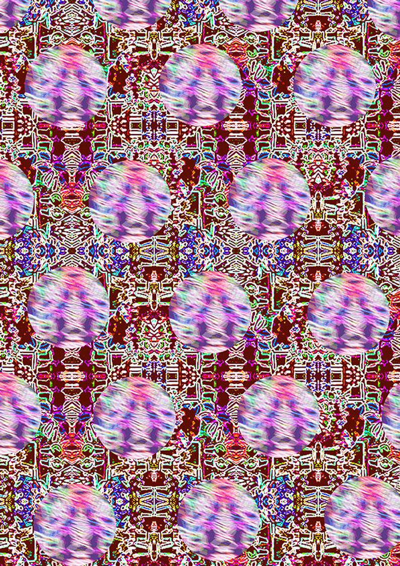 Models geometric wallpaper