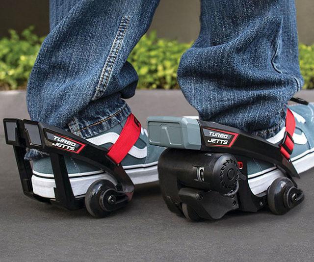 Motorized Electric Heel Wheels