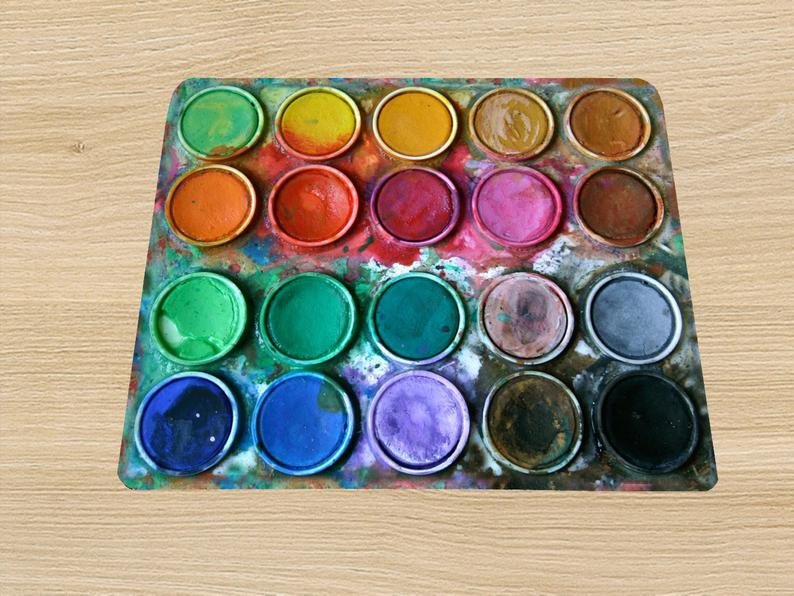 Paintbox Water color box mouse pad mousepad mouse mat