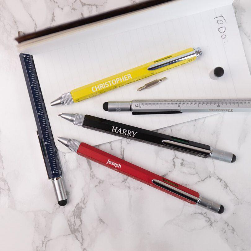 Personalised Multitool Pen