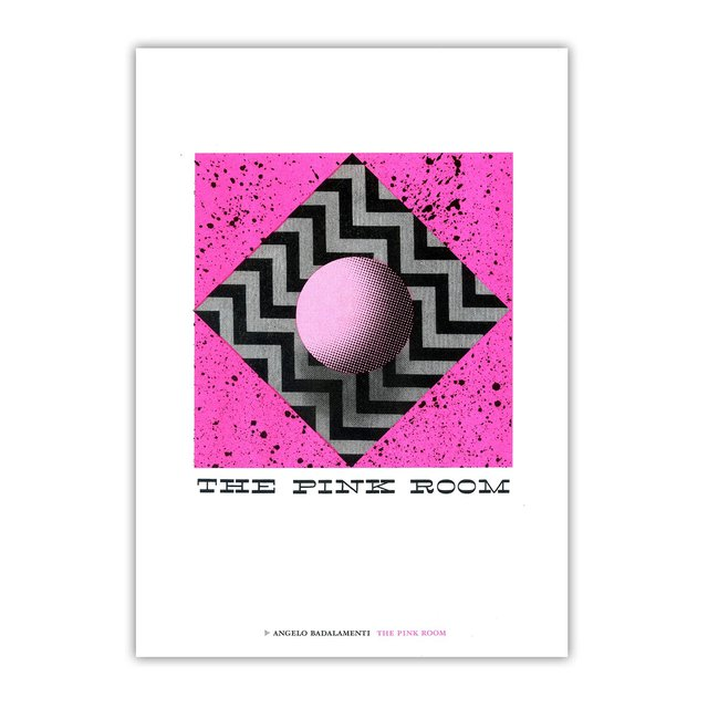 Riso Print The Pink Room