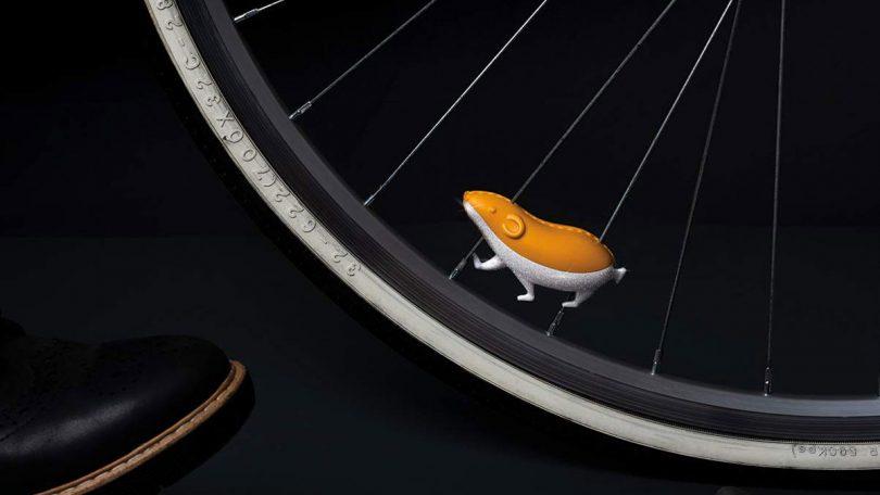Speedy the Hamster Reflective Bike Spoke Accessory