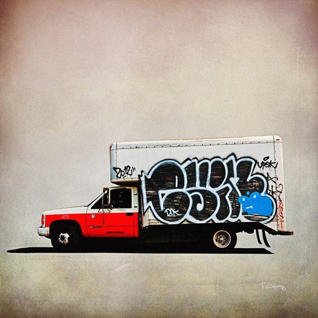 Truck #4 Print by Tim Jarosz