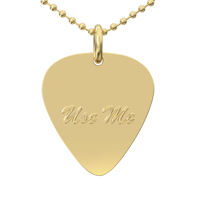 Use Me/ Love Me Double Sided Necklace