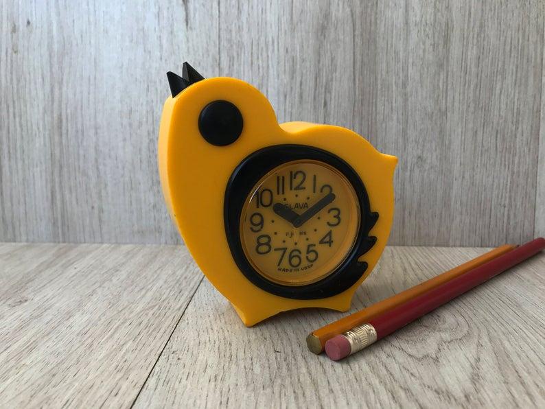 Vintage alarm clock Working mechanical alarm clock