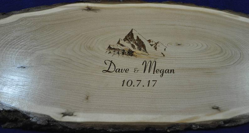 Wedding Signs  Guest Book  Wedding Guest Book  Wood Slab