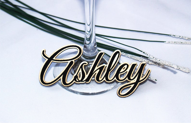 Wedding table names Wedding table place Guest names Place
