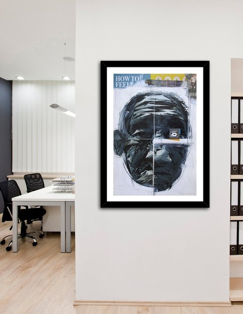 how to feel?, Fine Art Print by Enrico Varrasso