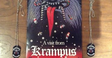 A Visit from Krampus Children's book.