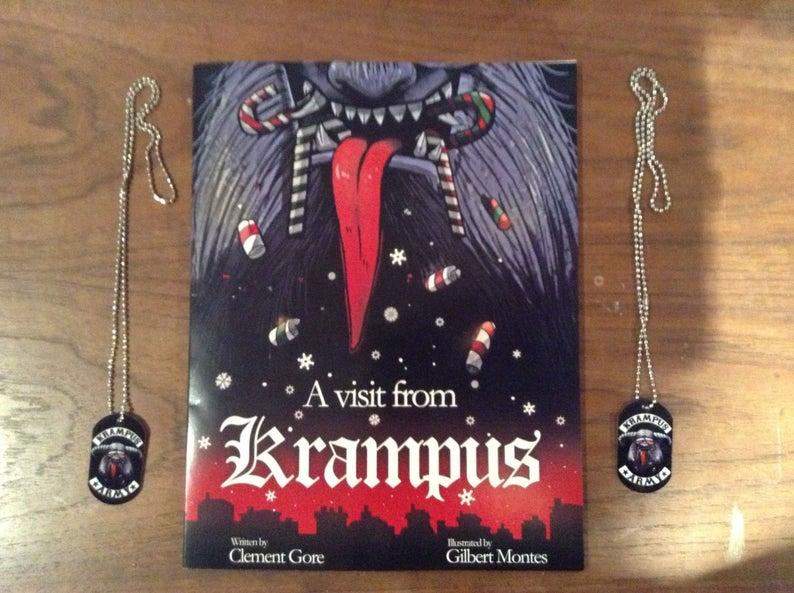 A Visit from Krampus Children's book.