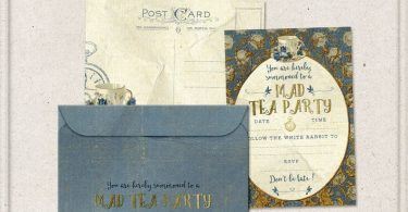 Alice In Wonderland Tea Party Invitation Mad Tea Party Ideas