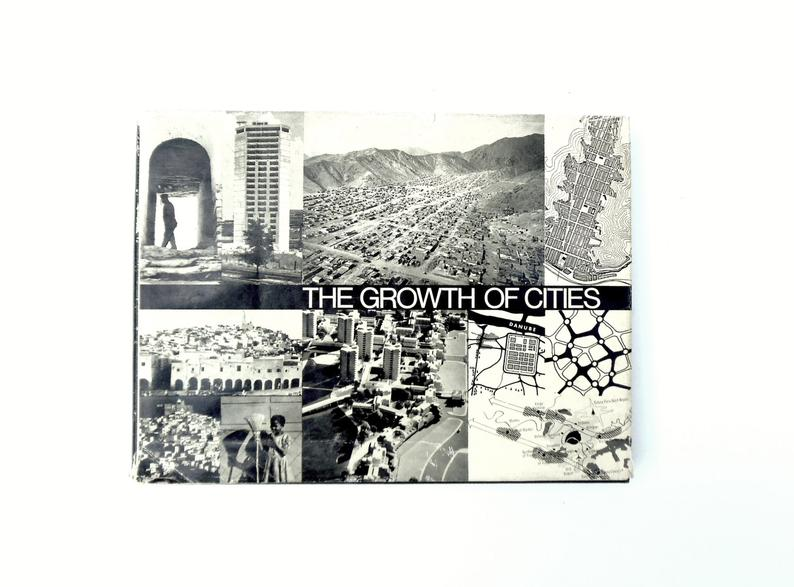 Architecture Book The Growth Of Cities Urban Planning 1970s