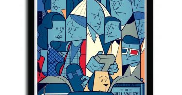 Back to the Future Print by Ale Giorgini