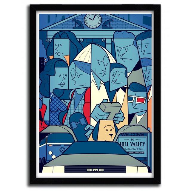 Back to the Future Print by Ale Giorgini