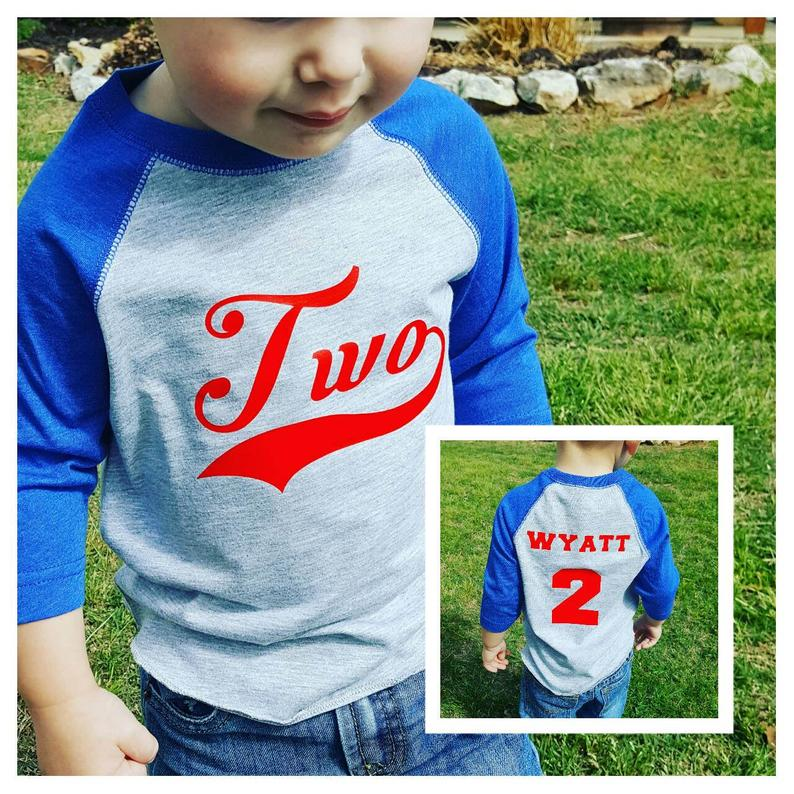 Baseball Birthday Shirt  Baseball 2nd Birthday Shirt