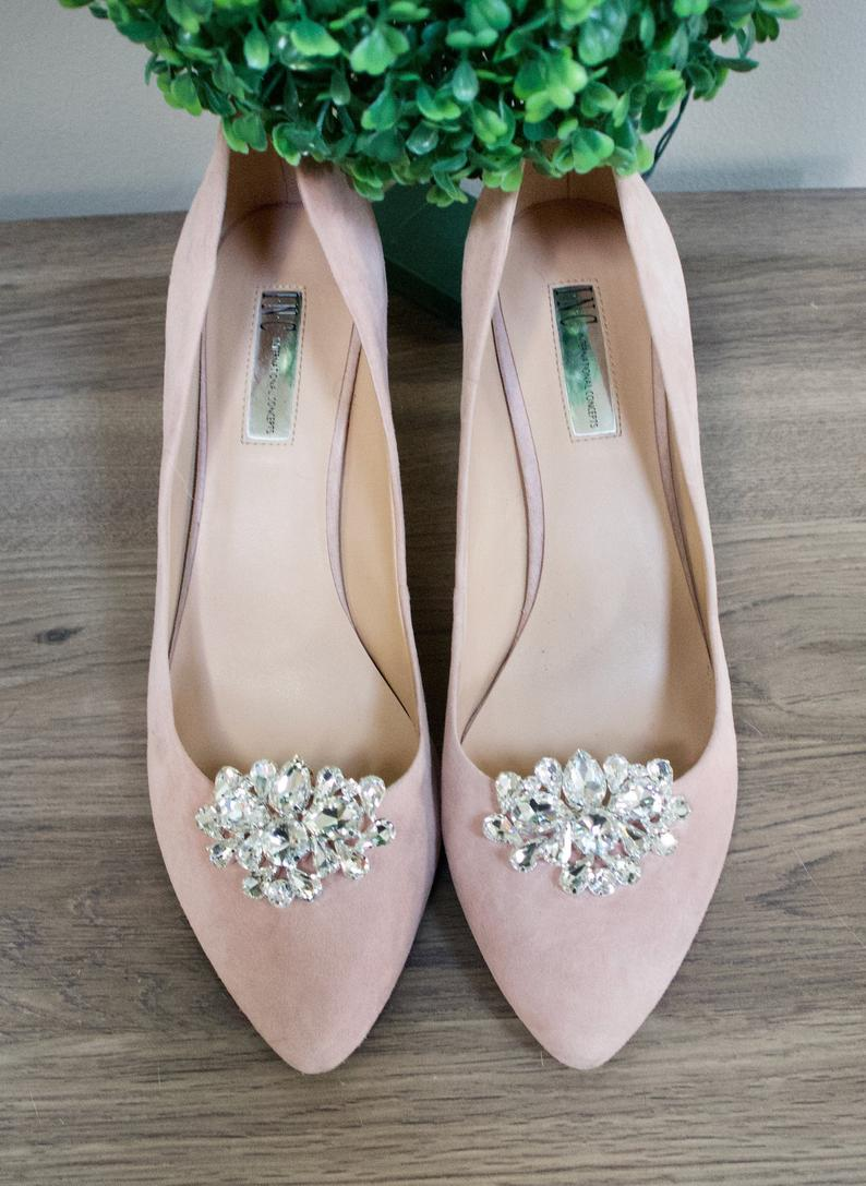 Bridal Shoe Clips Bridal Shoes Wedding Shoe Clips Wedding