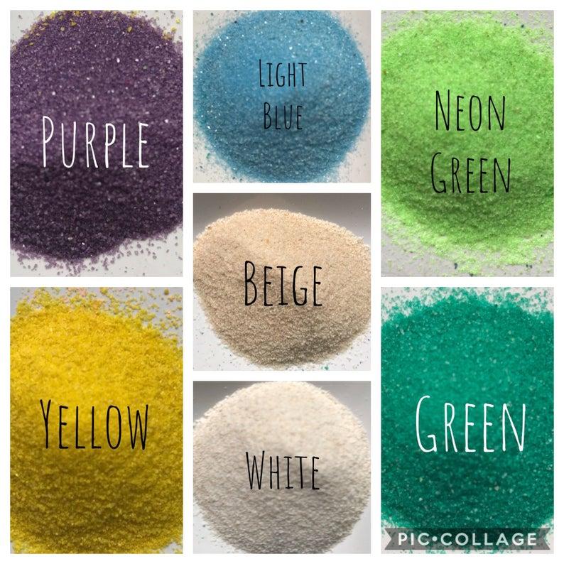 Colored Sand-Wedding Sand Unity Set-20 Colors