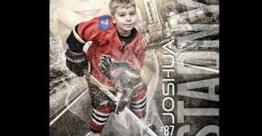 Custom Hockey Sports Poster Collage for ANY SPORT team or