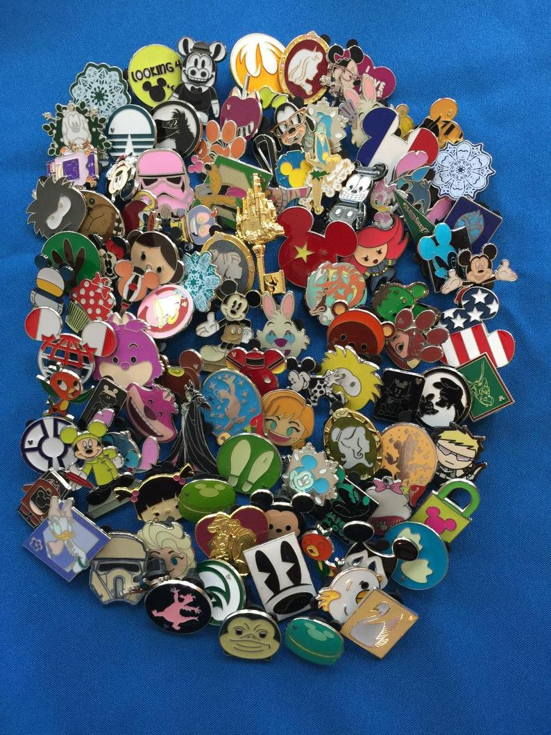 DISNEY TRADING PINS Choose 10-25-50-100 Pin Lots