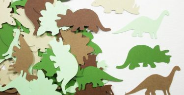 Dinosaur Party Decoration Dinosaur Confetti Birthday Party