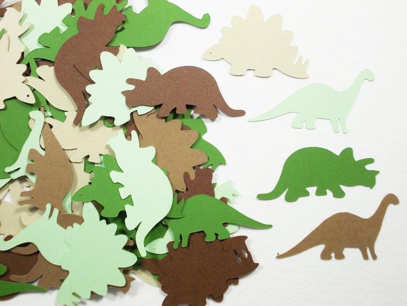 Dinosaur Party Decoration Dinosaur Confetti Birthday Party