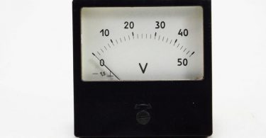 Electronic device voltmeter ammeter antique industrial tools