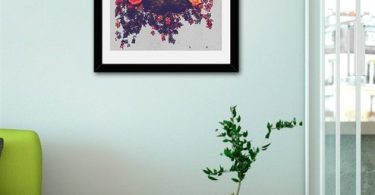 Girafflower., Fine Art Print by Eleaxart