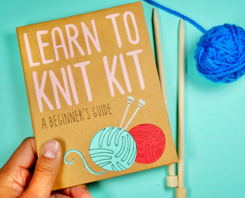 Learn to Knit Kit: An Introduction to Knitting  with Handmade