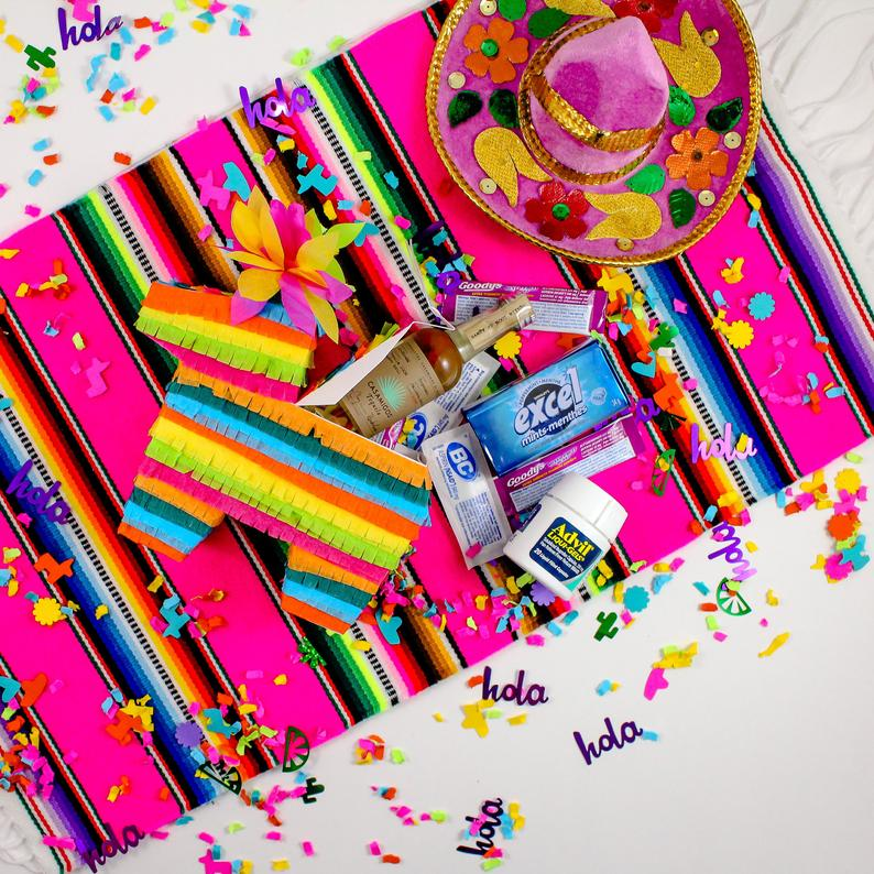 Mini Pinata Party Favor Pinata Gift Box Hangover Kit Idea