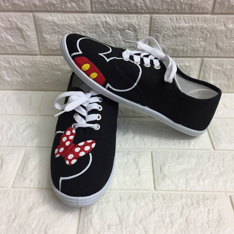 Minnie Mouse Disney Shoes MICKEY mouse shoes Disney World