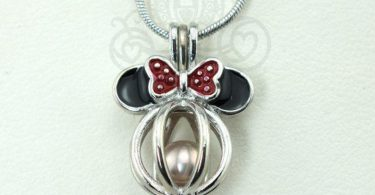 Minnie Mouse Pearl Cage Pick A Pearl or Wish Pearl Holder