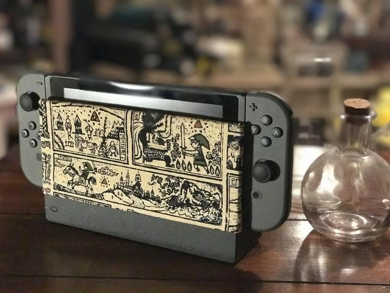 Nintendo Switch Dock Sock Wind Waker Edition