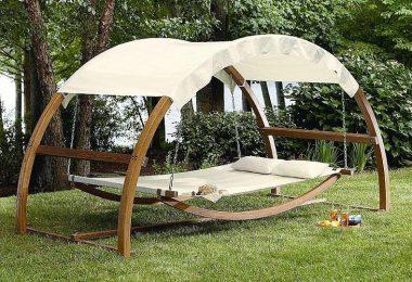 Outdoor Patio Arch Swing