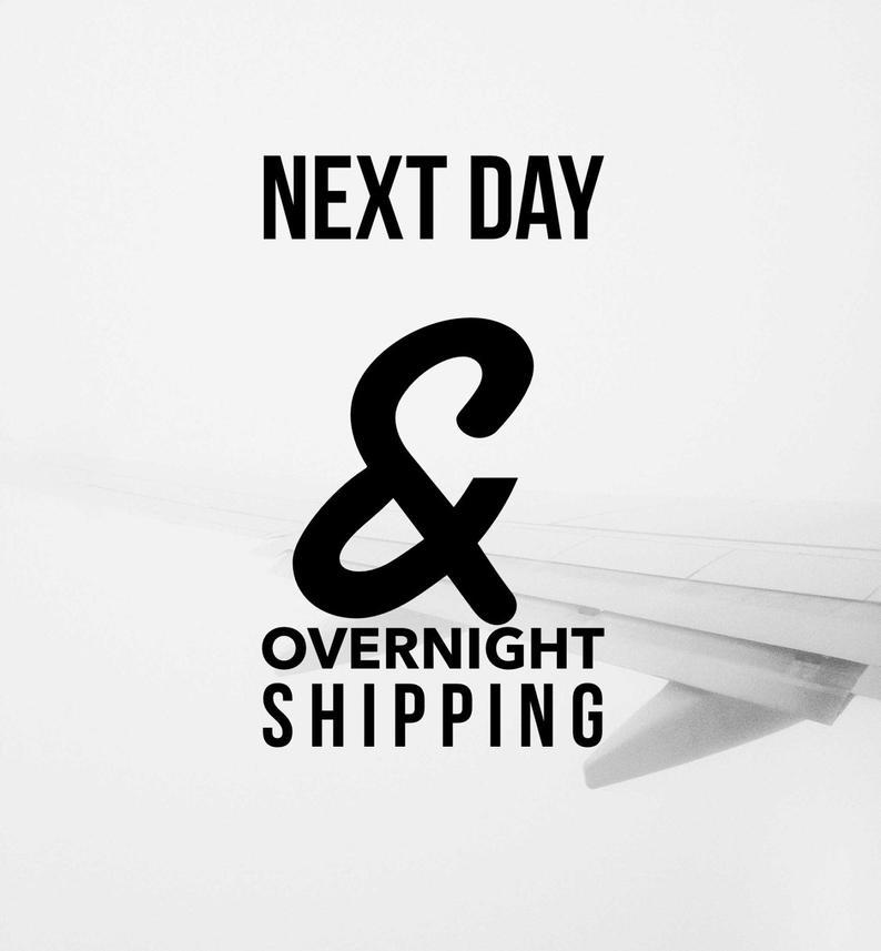 Overnight ShippingExpedited ShippingShippingShipping