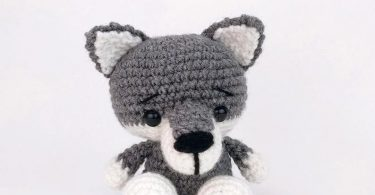 PATTERN: Wilson the Wolf Pup  Crochet wolf pattern