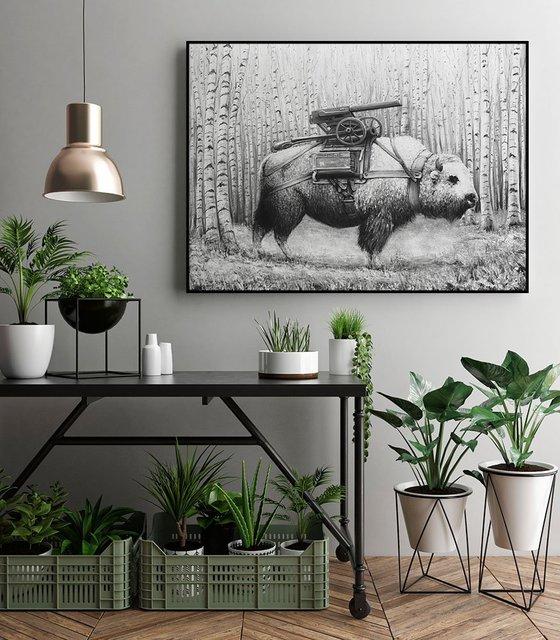 Rakuhnz ArtBlock Framed Print by Ruben Carrasco
