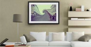 Salvador Twist, Fine Art Print by David Copithorne