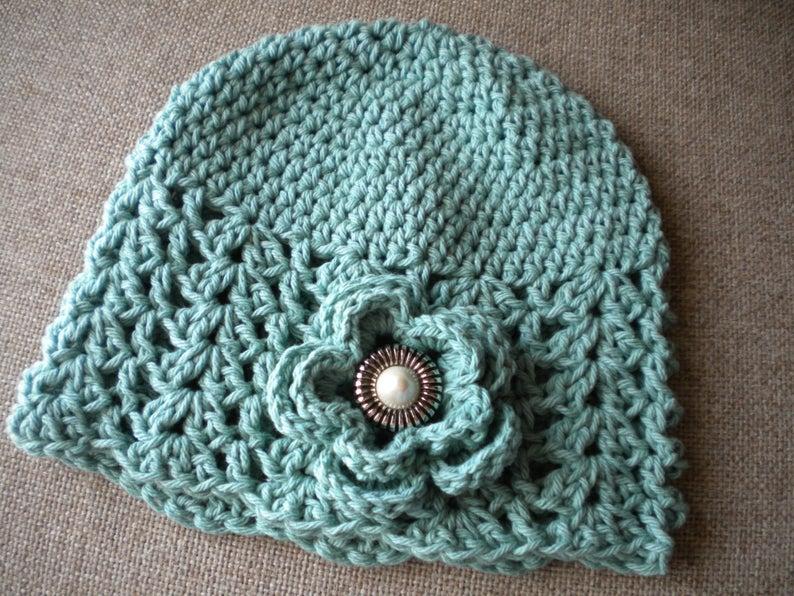 Spring  Beanie Hat for woman Crochet  Hat for Women Beanie