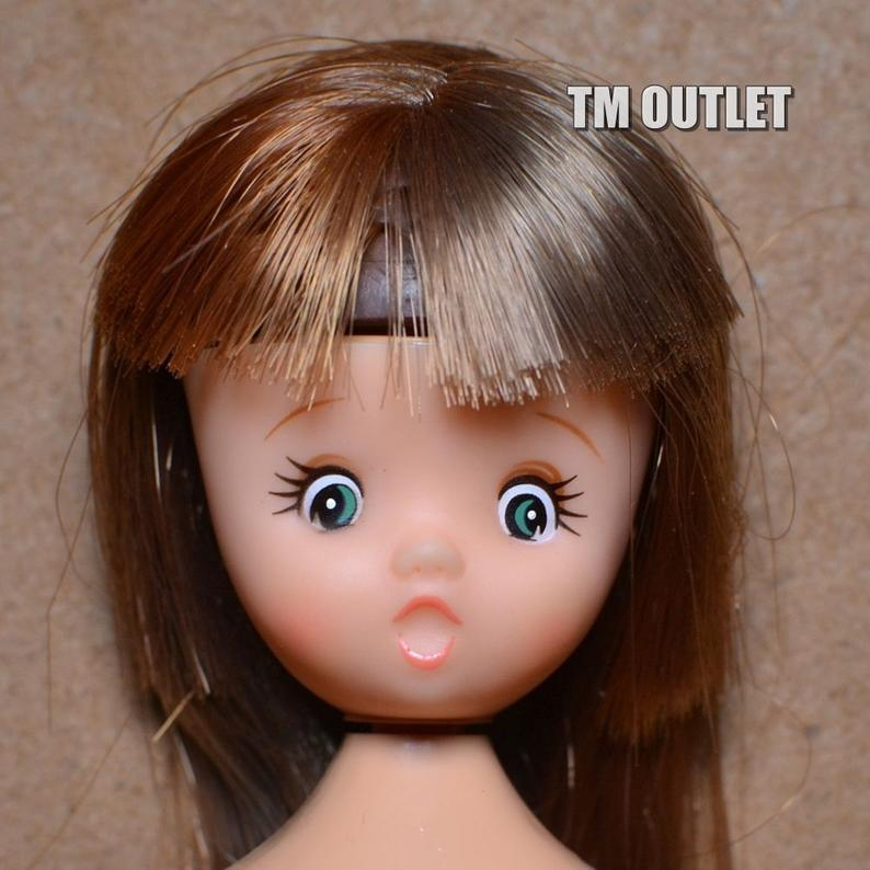 Takara Vintage Kururi-chan Doll Licca-chan Friend
